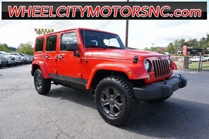 2015 Jeep Wrangler Unlimited Sahara for sale by dealer