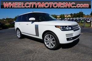 2015 Land Rover Range Rover 5.0L V8 Supercharged for sale by dealer