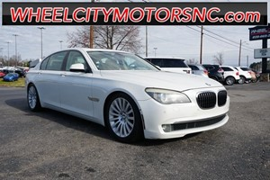 Picture of a 2009 BMW 7 Series 750Li