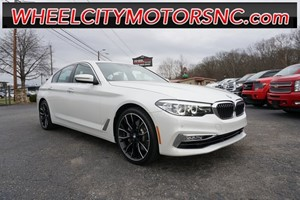 Picture of a 2018 BMW 5 Series 540i