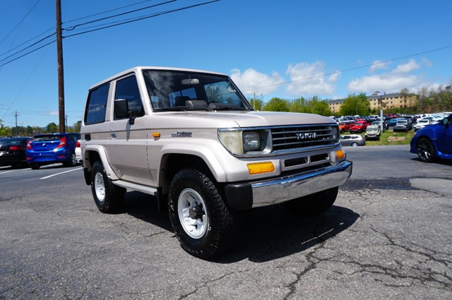 Toyota Land Cruiser LJ70 Factory AC in Asheville