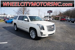 2015 Cadillac Escalade ESV Platinum Edition for sale by dealer