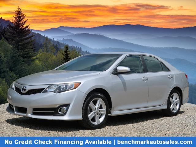 A used 2012 Toyota Camry SE Asheville NC