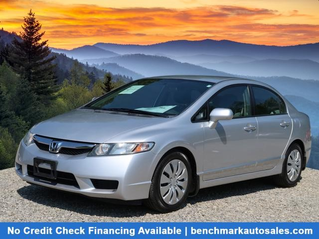 A used 2010 Honda Civic LX Sedan 4D Asheville NC