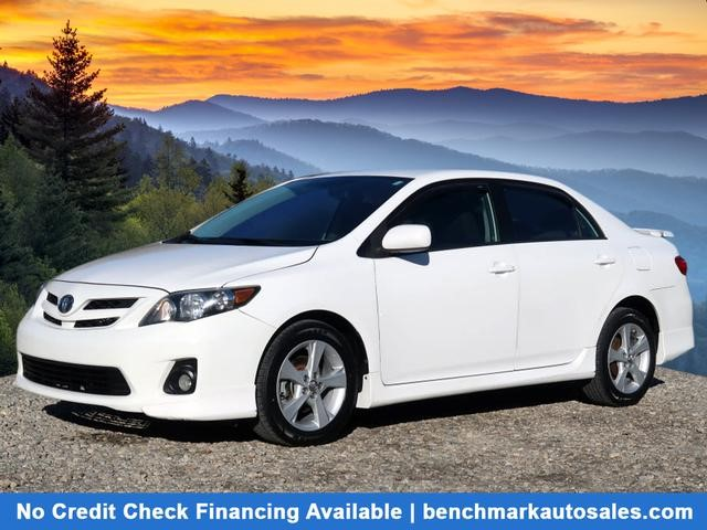 A used 2013 Toyota Corolla S Asheville NC
