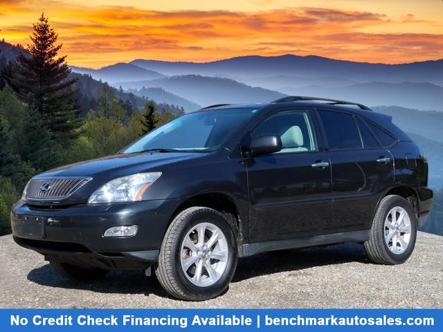 A used 2009 Lexus RX 350 AWD Asheville NC