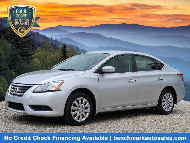 A used 2014 Nissan Sentra S Asheville NC