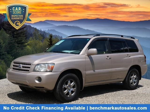 A used 2006 Toyota Highlander 4X4 Asheville NC