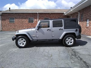 2013 Jeep Wrangler Unlimited Sahara 4WD for sale by dealer