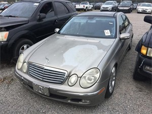 2003 MERCEDES-BENZ E500 for sale by dealer