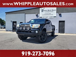 2010 TOYOTA TACOMA SR5 DOUBLECAB 4X4 for sale by dealer