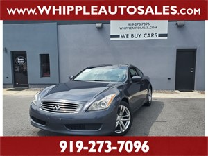 2009 INFINITI G37 Journey (1-OWNER) for sale by dealer