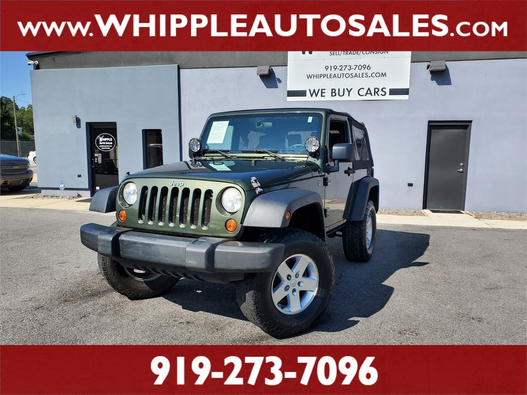 Buy Jeep Wrangler >> 2008 Jeep Wrangler X In Raleigh