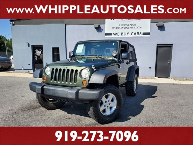 JEEP WRANGLER X in Raleigh
