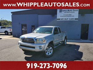 2009 TOYOTA TACOMA SR5 ACCESSCAB Raleigh NC