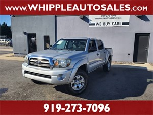 2010 TOYOTA TACOMA SR5 DOUBLECAB for sale by dealer