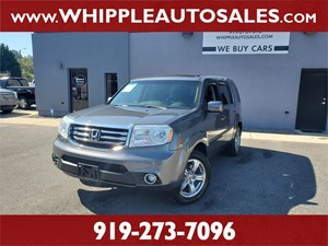 2012 HONDA PILOT EX-L for sale by dealer