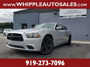 2011 DODGE CHARGER POLICE (1-OWNER) Raleigh NC