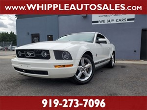 2009 FORD MUSTANG PREMIUM Raleigh NC