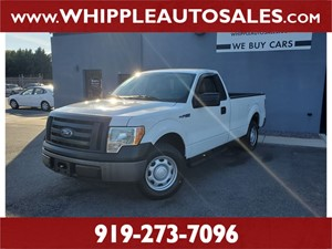 2010 FORD F-150 XL Raleigh NC