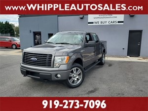 2014 FORD F150 STX SUPERCREW (1-OWNER) Raleigh NC