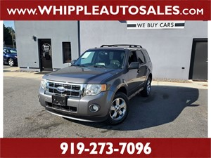 2012 FORD ESCAPE XLT  Raleigh NC