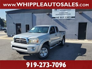 2007 TOYOTA TACOMA SR5 ACCESSCAB (1-OWNER) Raleigh NC