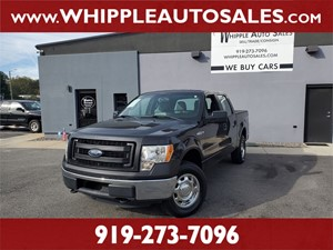 2013 FORD F-150 XL SUPERCREW Raleigh NC