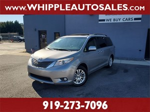 2013 TOYOTA SIENNA XLE (1-OWNER) Raleigh NC
