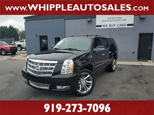 2012 CADILLAC ESCALADE ESV PLATINUM for sale by dealer