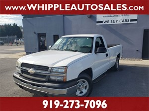 2004 CHEVROLET SILVERADO WT for sale by dealer