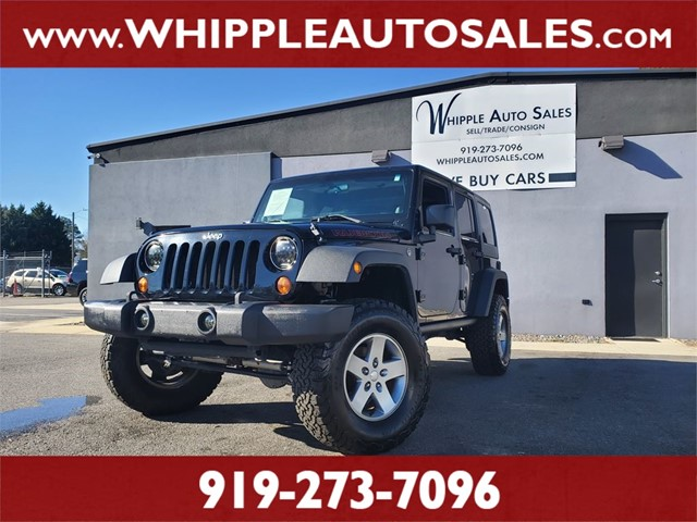 JEEP  WRANGLER UNLIMITED RUBICON in Raleigh