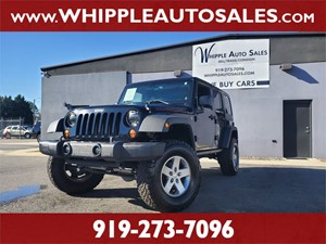 2012 JEEP  WRANGLER UNLIMITED RUBICON Raleigh NC