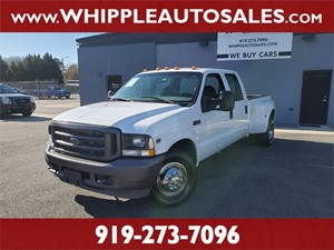 2004 FORD F-350 SuperDuty XL  Raleigh NC