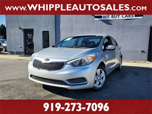 2015 KIA FORTE EX (1-OWNER) for sale by dealer