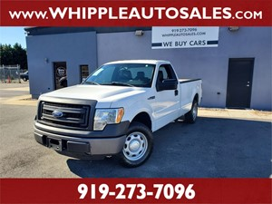 2013 FORD F-150 XL (1-OWNER) Raleigh NC