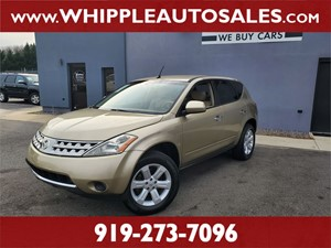 2006 NISSAN MURANO S  for sale by dealer