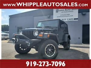 2006 JEEP  WRANGLER X for sale by dealer