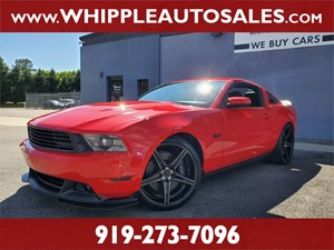 2011 FORD MUSTANG GT for sale by dealer