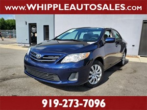 2013 TOYOTA COROLLA LE (1-OWNER) for sale by dealer