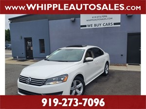 2013 VOLKSWAGEN PASSAT SEL for sale by dealer
