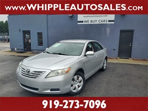 2008 TOYOTA  CAMRY LE  for sale by dealer