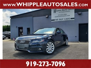 2011 AUDI A4 2.0T QUATTRO for sale by dealer