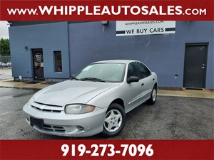 2004 CHEVROLET  CAVALIER (1-OWNER) Raleigh NC