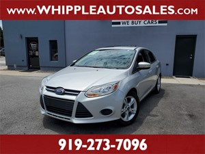 2014 FORD FOCUS SE (1-OWNER) Raleigh NC