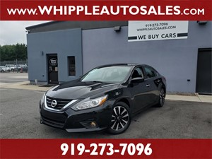 2018 NISSAN ALTIMA 2.5 SV for sale by dealer