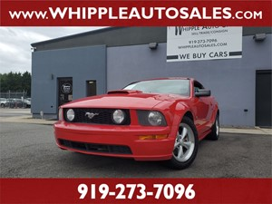 2007 FORD MUSTANG GT for sale by dealer