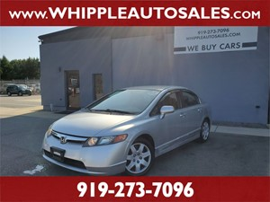2008 HONDA CIVIC LX (1-OWNER) for sale by dealer