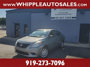 2012 NISSAN  VERSA 1.6 S (1-OWNER) for sale by dealer