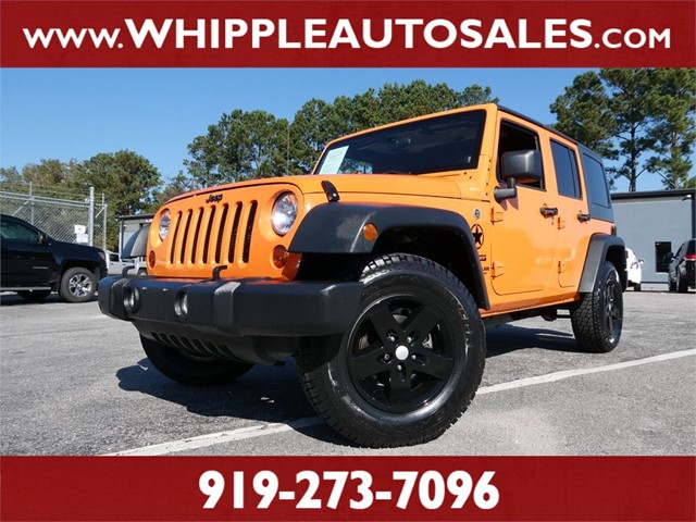 JEEP WRANGLER UNLIMITED SPORT  in Raleigh